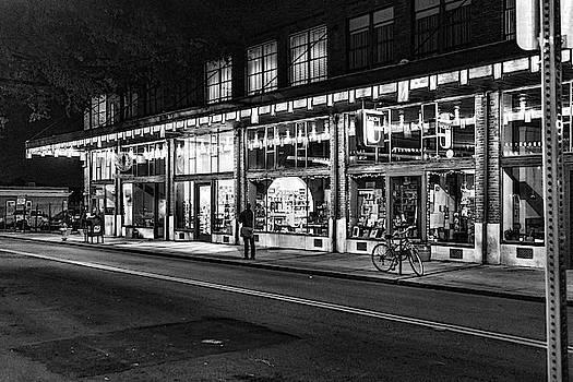 Sharon Popek - Daylight Building at Night