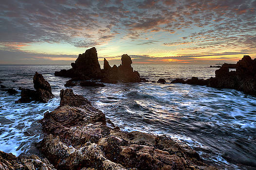 Cliff Wassmann - Days End Corona del Mar Sunset