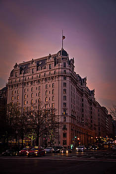 D.C. Shopping at Twilight by Dawn Wayand