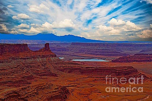 Dead Horse State park- Moab Utah by Sherry Little Fawn Schuessler