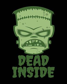 Dead Inside Frankenstein Monster by John Schwegel
