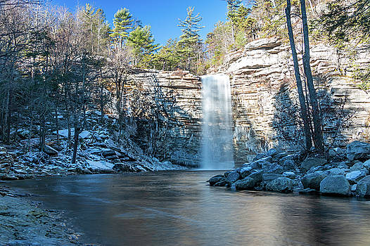 December Morning at Awosting Falls 2018 by Jeff Severson