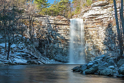 December Morning at Awosting Falls II 2018 by Jeff Severson