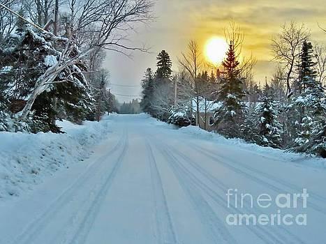 December sunrise by Brenda Ketch
