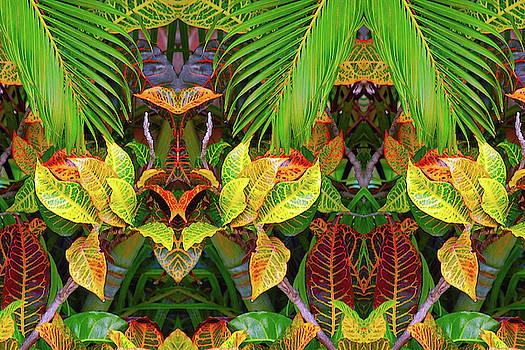 Deco Leaves 5 by Dan Simpson