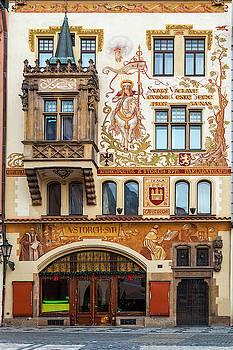 Decorated Prague Facade by Andrew Soundarajan