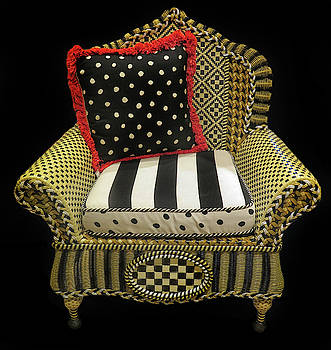 Decorative Chair by Dave Mills