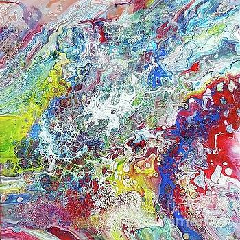 Deep red 1 by Jos Van de Venne