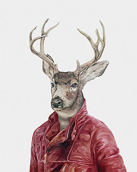 Deer in Leather by Animal Crew