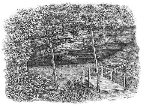 Kelli Swan - Deer Lick Cave - Cleveland Metroparks