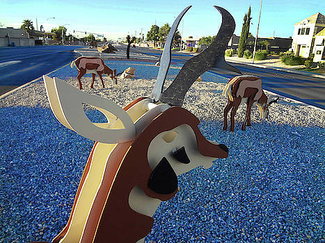 Deer Sculptures by Bruce Iorio