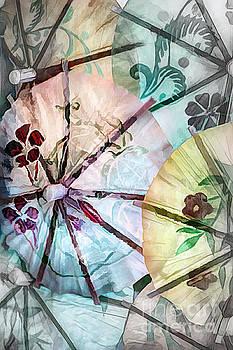 Delicate Paper Umbrellas by Pamela Moran