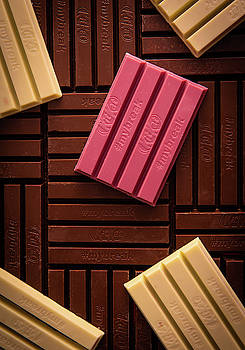 Delicious and tasty  famous KitKat chocolate bars by Michalakis Ppalis