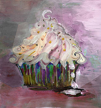 Delicious Dripping And Swirls Painting by Lisa Kaiser