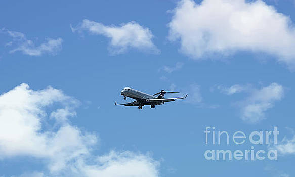 Delta Aviation Flying by Dale Powell