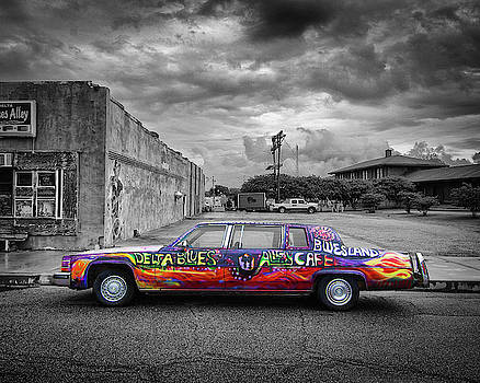 Delta Blues Limo by Jim Mathis