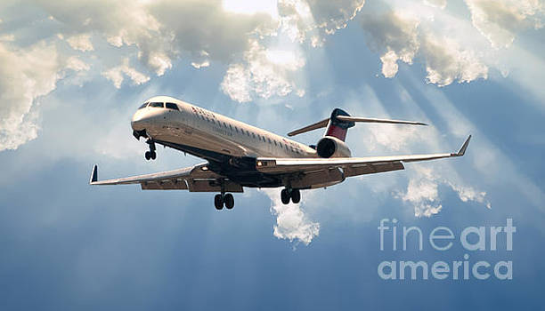 Delta Landing CHS by Dale Powell