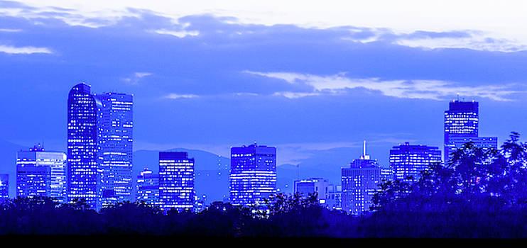 Denver Skyline by Steven Bateson