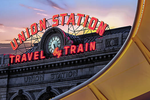 Denver Union Station Travel by Train by Gregory Ballos