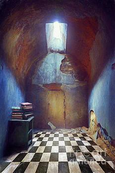 Derelict Room with Books by Jill Battaglia