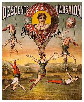 Descente D'absalon Par Miss Stena - Vintage Advertising Poster by Siva Ganesh