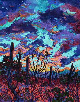 Desert Dusk by Rebecca Baldwin
