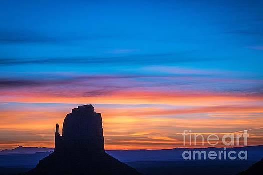 Desert Sunrise 1 of 2 by Bob Lentz