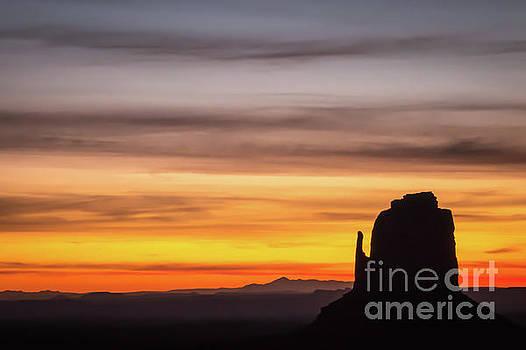 Desert Sunrise 2 of 2 by Bob Lentz