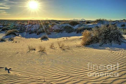 Desert Sunset by Joe Sparks