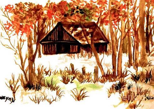 Deserted Barn by Debra Lynch