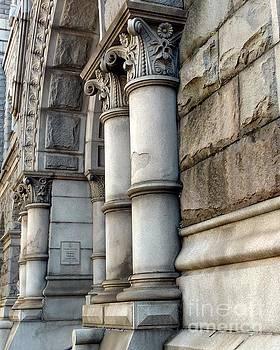 Detail of The Old City Hall in Richmond, Virginia by Ausra Huntington nee Paulauskaite