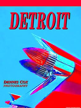 Dennis Cox Photo Explorer - Detroit Classic Poster