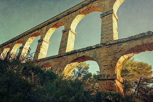 Devil's Bridge Tarragona Spain IV by Joan Carroll