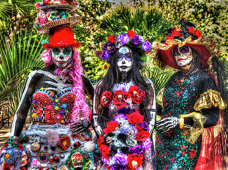Dia De Los Muertos by Mark Langford