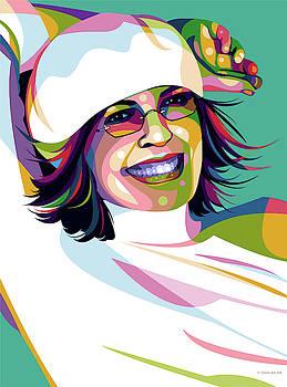 Diane Keaton by Stars-on- Art