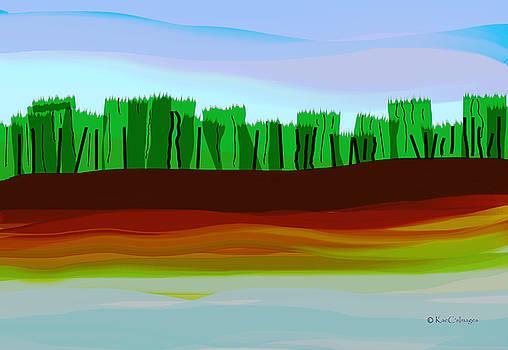 Kae Cheatham - Digital Landscape Organic City