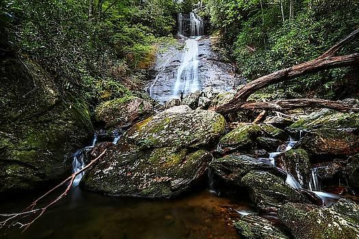 Dill Falls North Carolina by Carol Montoya