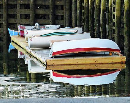 Dinghy Dock by Carl Sheffer