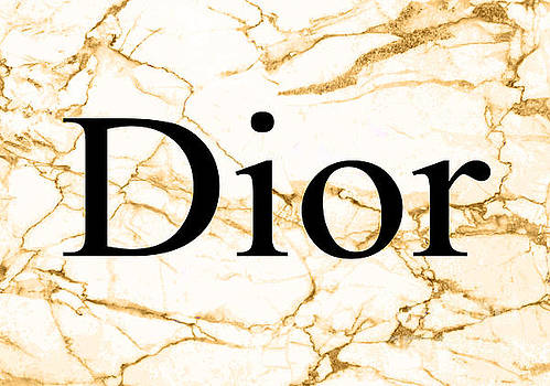 Dior Beige Marble by Del Art