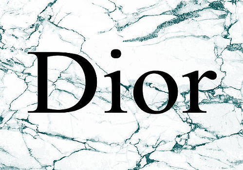Dior Green Marble by Del Art