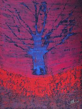 Disappearing Tree original painting by Sol Luckman
