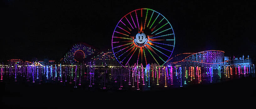 Disney California Panorama by Art Spectrum