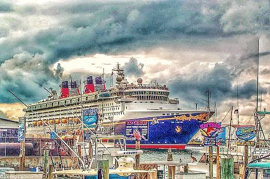 Disney Cruise Line by Tommy Anderson