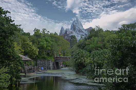 Disney World Mountain by Dale Powell