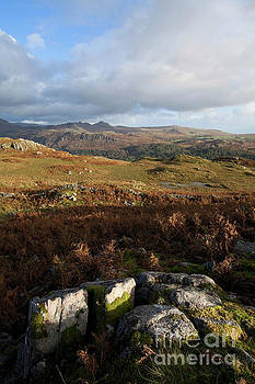 Distant Green Crag by Gavin Dronfield