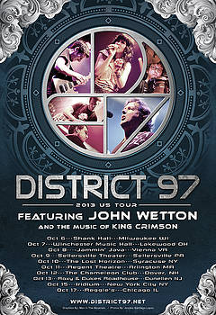 District 97/John Wetton US Tour by District 97