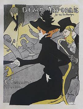 Divan Japonais, 1892, concert poster by Henri de Toulouse-Lautrec