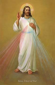 Divine Mercy - Divina Misericordia by Svitozar Nenyuk