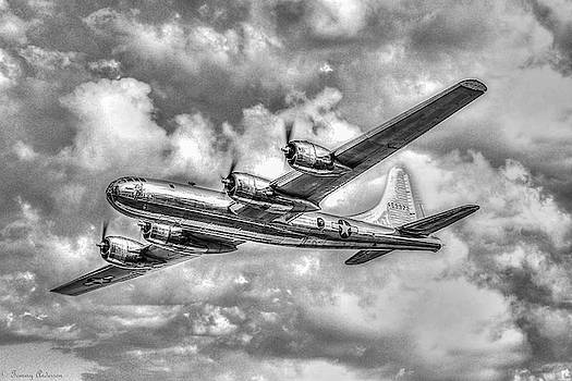 Doc over Oshkosh in BW by Tommy Anderson