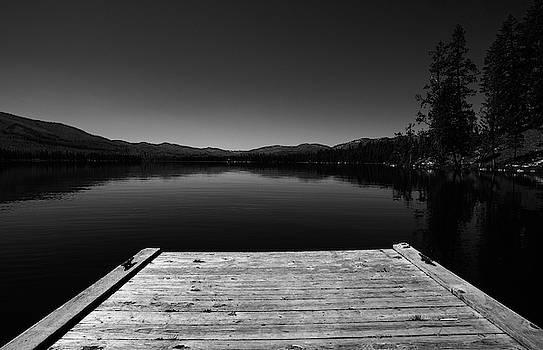 Dock At Dusk by Tom Gresham